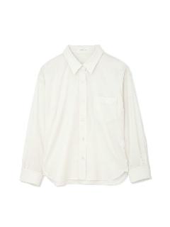 ポリエステル麻ツイルシャツ