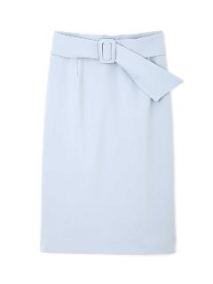 サッシュベルト付きセットアップスカート