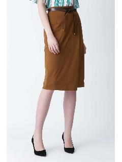 [ウォッシャブル]サテンツイルスカート
