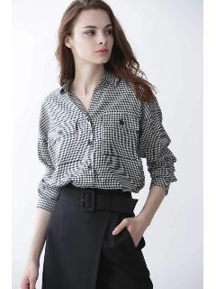 ◆ミニチドリボリュームシャツ