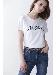 ◆フロッキープリントロゴTシャツ
