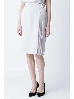 ◆プリーツコンビセットアップスカート