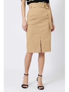 綿麻スラブアウトポケットスカート