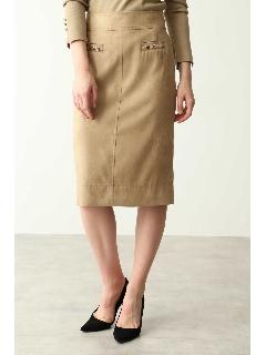 エルモザスエードビットスカート