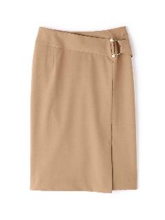 パールバックルタイトスカート
