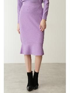 ◆ペプラムニットスカート