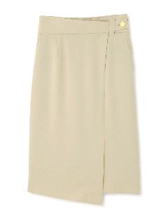 ◆ダブルクロスラップ風スカート