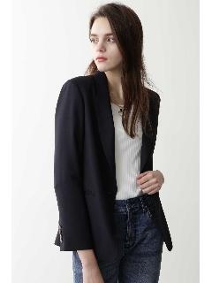 ◆麻調合繊テーラードジャケット