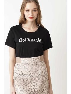 [WEB限定商品][ウォッシャブル]ON VACAY Tシャツ