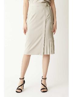 ◆サイドプリーツラップ風セットアップスカート