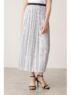ブライトオーガンジープリーツスカート