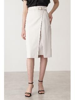 ◆ベルトデザインタイトスカート