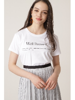 Well Dressed ロゴTシャツ