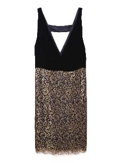 《BLACK LABEL》ナイルレースドレス