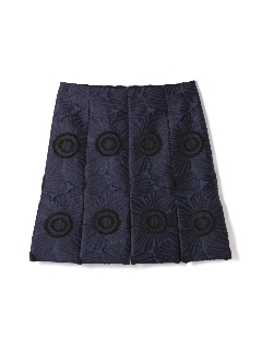 サークルフラワースカート
