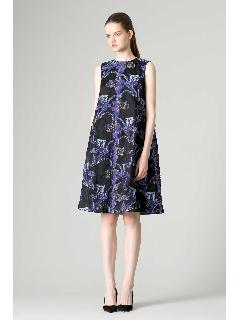 [一部店舗限定]シアーカットジャガードドレス