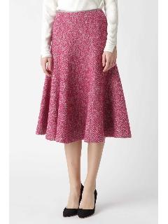 ループツィードフレアスカート