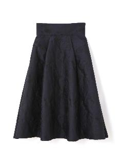 《BLACK LABEL》ノアールフラワージャガードスカート