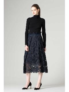 [一部店舗限定]ローズレーススカート