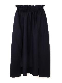 ライト麻アシメトリースカート