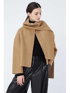 ◆|STORY 12月号掲載|2TONE リバーストール付きジャケット