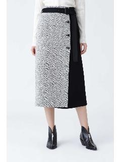 ◆クラシックヘリンボーンスカート