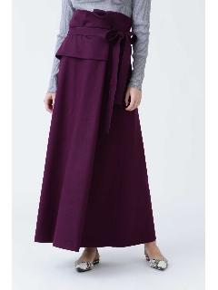 ウールスムースフレアースカート