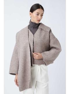 |STORY 12月号掲載|シャギーカルゼケープ付きジャケット