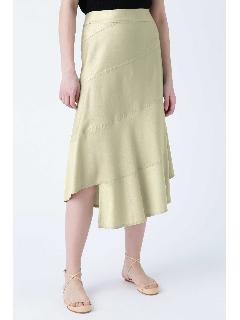 テンセルデニムスカート