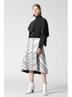 ◆グラフィカルジャガードスカート
