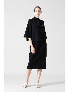 ◆ステッチジャガードニットスカート