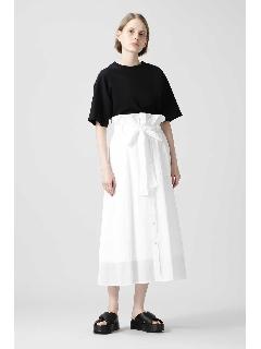 ◆ハイツイストオーガンリボンベルトスカート