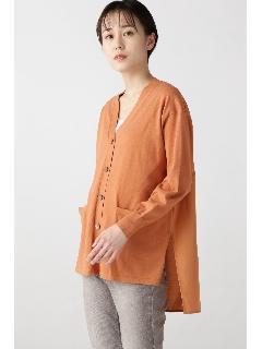 ◆布帛コンビカーディガン