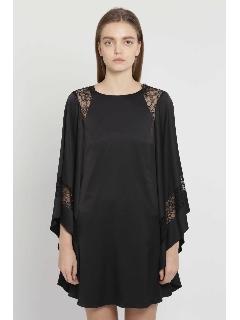 フレデリカポンチョスリーブドレス