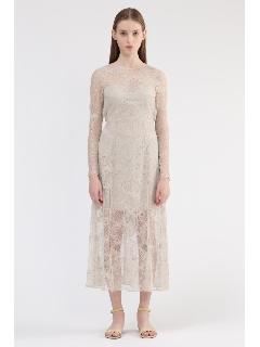 《JILLSTUART White》アデルリバーレースドレス