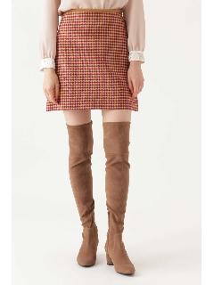 ◆ポリーヌチェックミニスカート
