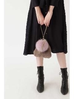 |美人百花9月号掲載|★ピンク・ウォームグレーWEB限定色★フェイバッグ