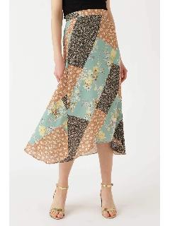 ◆シアーミックスフラワースカート