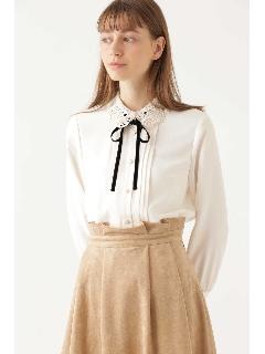 ◆マドレーヌ襟付きブラウス