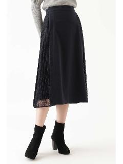 ◆ユリアレース×プリーツスカート