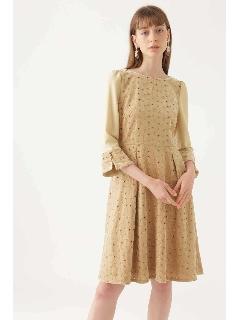 《JILLSTUART White》メアリーべロア刺繍ドレス