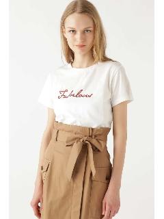 ファビラス ロゴTシャツ