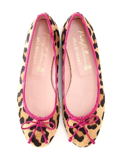 《Pretty Ballerinas》LEOPARD バレエシューズ