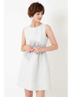 《JILLSTUART White》カミラジャガードドレス