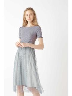 ◆ドッティカットドレス