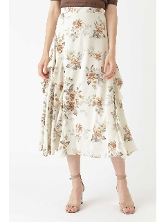 ◆メリンダフラワー柄スカート
