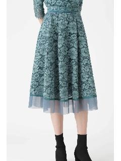 ◆《Endy ROBE》メーガンレーススカート