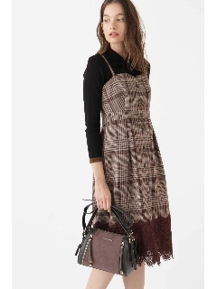 ◆アレクシスチェック柄ジャンパースカート