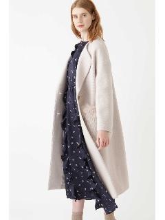◆ポケットファー付ロングコート