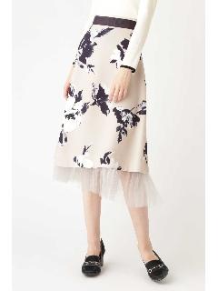 ◆《Endy ROBE》ルビーフラワースカート